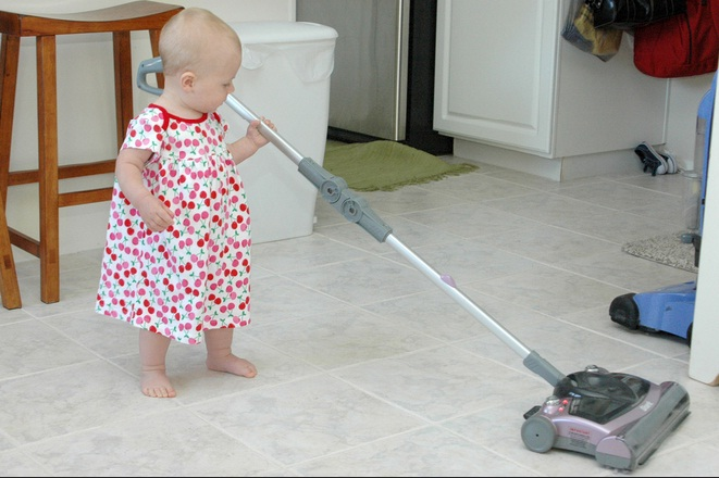 vacuum tile cleaning